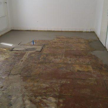 Povrchová kryštalická izolácia podláh